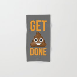 Get Shit Done Hand & Bath Towel