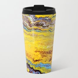 African landscape, acrylic on canvas Travel Mug