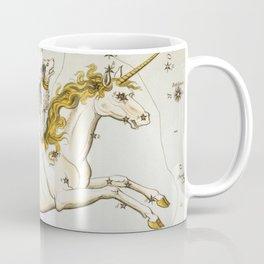 Vintage Unicorn Constellation Map (1825) Coffee Mug