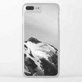 Shining Snowcap Clear iPhone Case