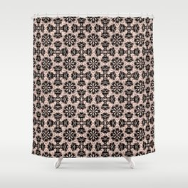 Pale Dogwood Floral Shower Curtain