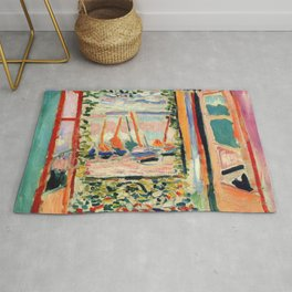 Henri Matisse The Open Window Rug