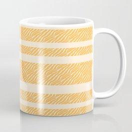 Marbled Pattern (sunglow yellow) Coffee Mug