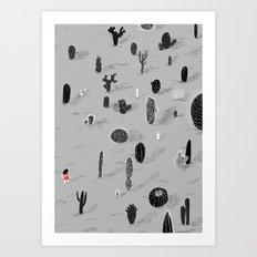 Cactarium Art Print