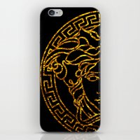 medusa iPhone & iPod Skins featuring medusa by ECSTATIC