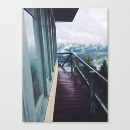 Bald Mountain Lookout Canvas Print