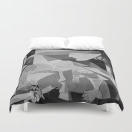 Guernica Pablo Picasso Painting Duvet Cover