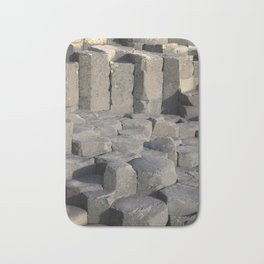 Giants Causeway; County Antrim; Northern Ireland, UK Bath Mat