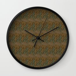 Upcycled Wall Clock