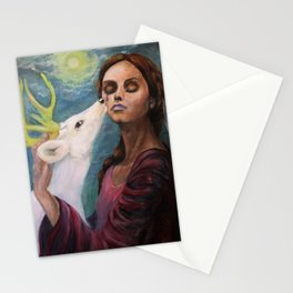 Goddess Artemis Stationery Cards