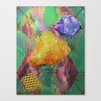 minerals Canvas Prints featuring Minerals, Minerals by Paula Morales