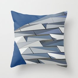 Modern Iconic Belfast Building Throw Pillow