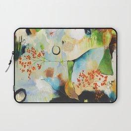 """Rainwash"" Original Painting by Flora Bowley Laptop Sleeve"