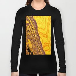 from yellow dunes to ugly shore Long Sleeve T-shirt