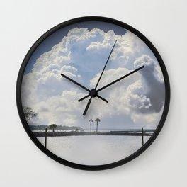 Look at that sky Wall Clock