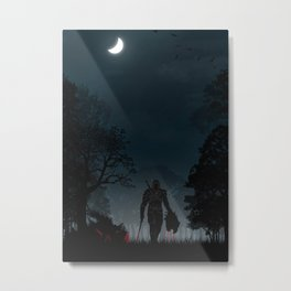 Witcher | Warriors Landscapes Serries Metal Print