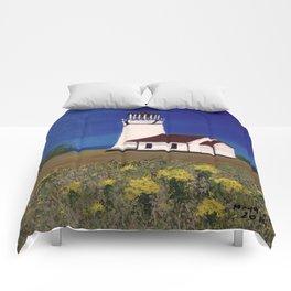 Cape Blanco lighthouse/ Oregon Comforters
