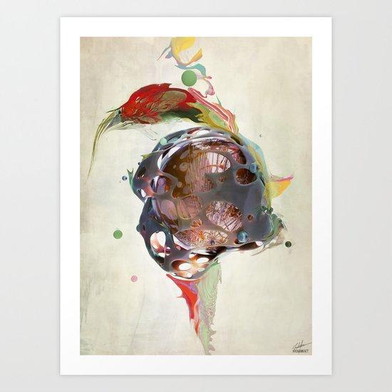 Sidett Art Print