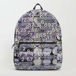 Post-Digital Tendencies Emerge (P/D3 Glitch Collage Studies) Backpack