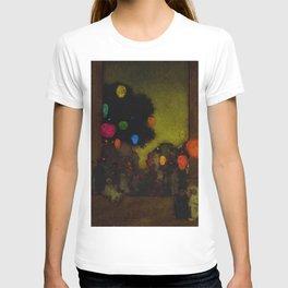 Festival of Lanterns, Twilight by Maxfield Parrish T-shirt