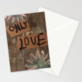 only love Stationery Cards