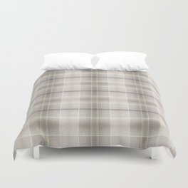 Plaid & Plaid Duvet Cover
