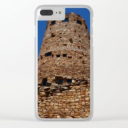 Desert View Watchtower - South Rim Grand Canyon Clear iPhone Case