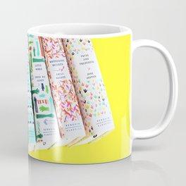 Pretty Book Collection Coffee Mug