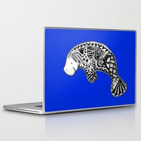 manatee Laptop & iPad Skins featuring Manatee by Casey Virata