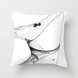 asc 222 - L'image volée (Schöne Seele II) Throw Pillow