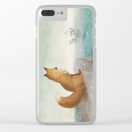 The Day the Antlered Ship Arrived Clear iPhone Case