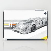 porsche iPad Cases featuring Porsche 917K by sesven