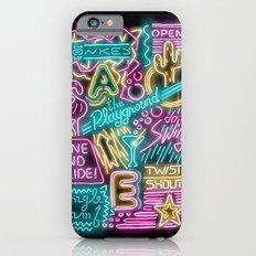 Neon Playground Slim Case iPhone 6s