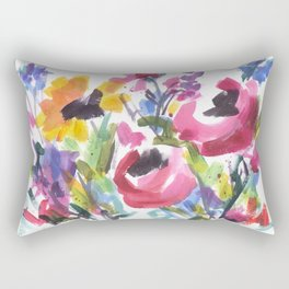 Wildflower Wild Rectangular Pillow