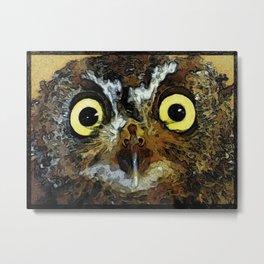 """Owlivia"" Metal Print"