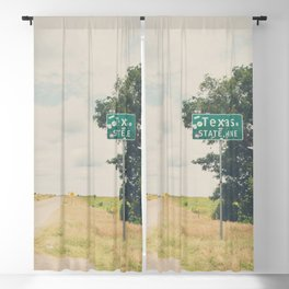 Texas state line ... Blackout Curtain