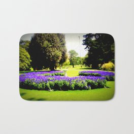 When the World wearies, there is always the Garden! Bath Mat