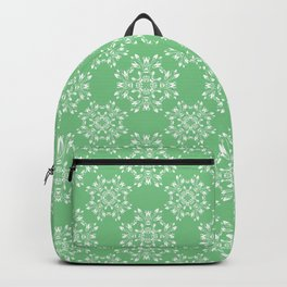 Sage Green Spring Lace Backpack