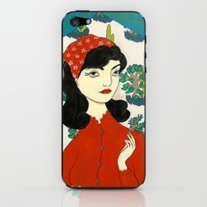 Found gentle, studied slow iPhone & iPod Skin