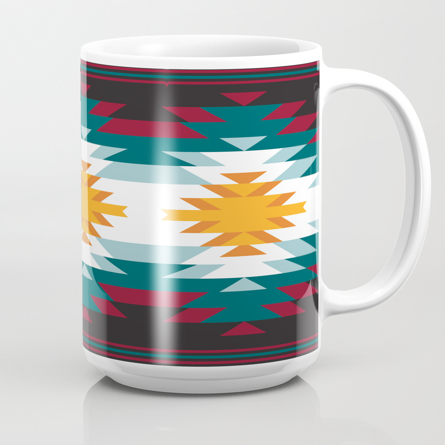 Native American Inspired Design Coffee Mug By Laurencullen Society6