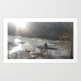 Line Creek Art Print
