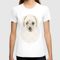 golden T-shirts featuring Golden by SaveTheDogs.es