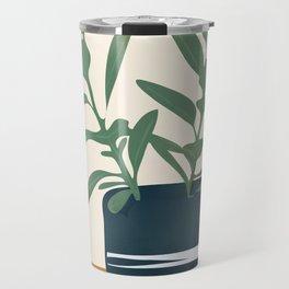 Vase Plant Travel Mug