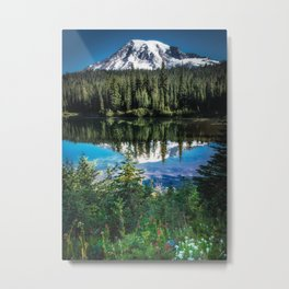 Mountain Lake Reflection 2017 Metal Print