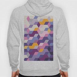 Violet Pattern Hoody