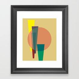 Cacho Shapes XXIV Framed Art Print