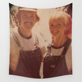 Mom and dad honeymoon Wall Tapestry