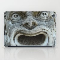 scream iPad Cases featuring scream by death above