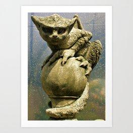 The Perch Art Print