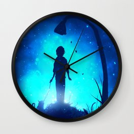 To The Light Of The Night Wall Clock